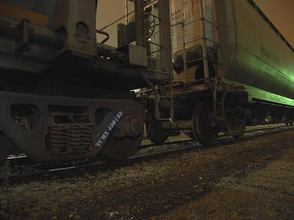 Photograph - Hdr Rail Cars by Scott Hovind