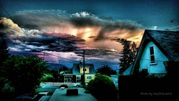 Photograph - Hdr Sunset by Guy Hoffman