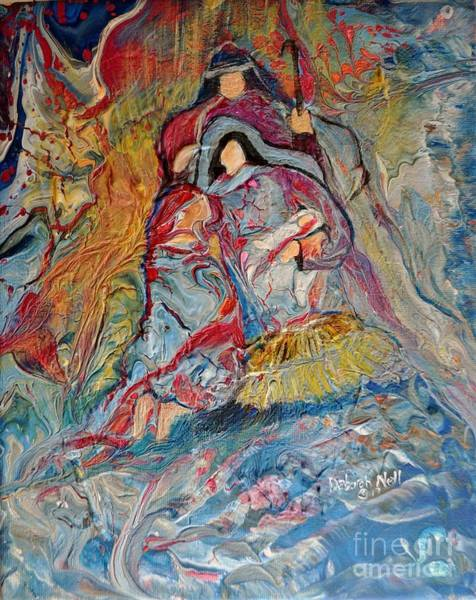 Painting - He Dwelt Among Us by Deborah Nell