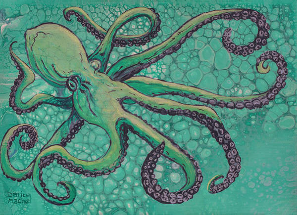 Painting - He'e Octopus  by Darice Machel McGuire