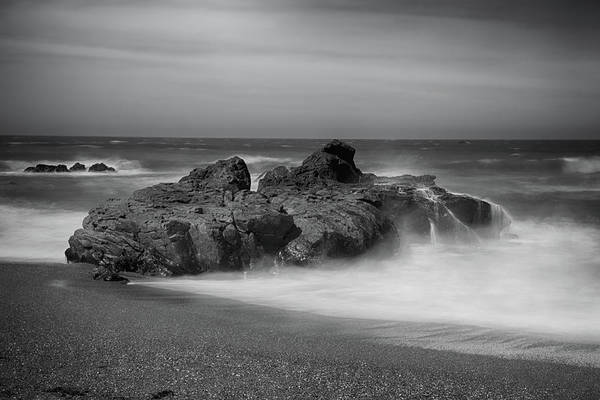 Cambria Photograph - He Enters The Sea by Laurie Search