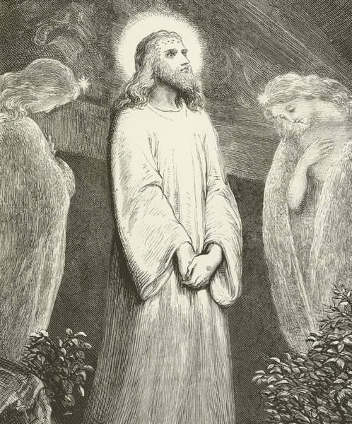 Gospel Drawing - He Is Risen by English School