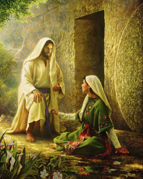 Jesus Wall Art - Painting - He Is Risen by Greg Olsen