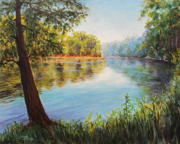 Painting - He Leadeth Me by Susan Jenkins