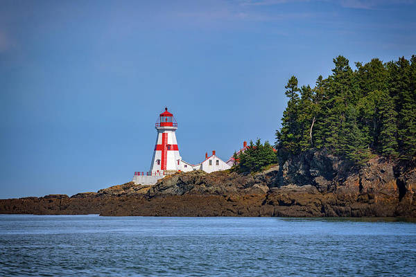 Photograph - Head Harbour Lightstation by Rick Berk
