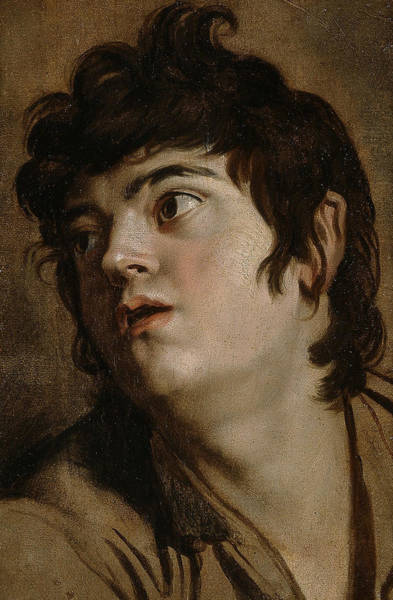Painting - Head Of A Young Man by Peter Paul Rubens