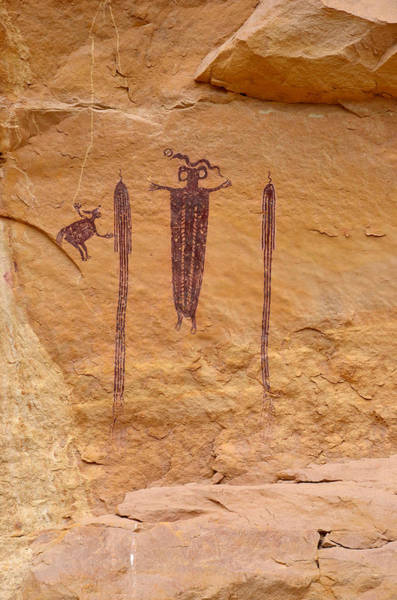 Photograph - Head Of Sinbad Pictograph by Tranquil Light  Photography