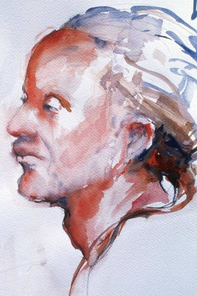 Painting - Head Study 5 by Barbara Pease