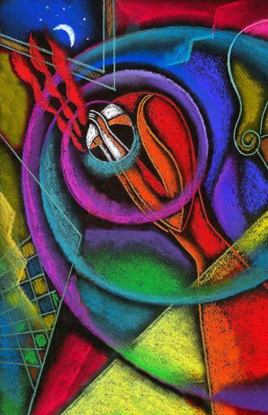 Wall Art - Painting - Headache by Leon Zernitsky