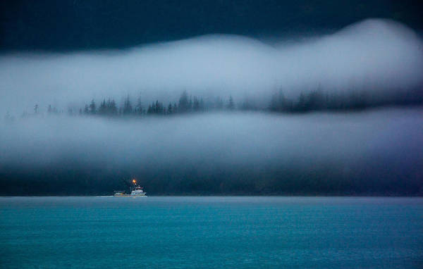 Fishing Boat Photograph - Headed Home by Dan Holmes