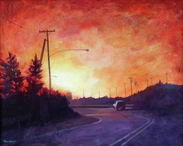 Wall Art - Painting - Headed Home by Nancy Palermo