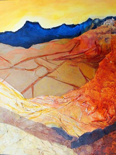 Complimentary Colors Mixed Media - Heading Home #1 by Myra Evans