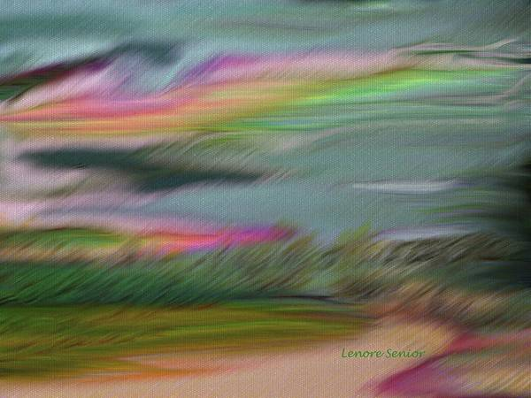 Shrub Mixed Media - Heading Home by Lenore Senior