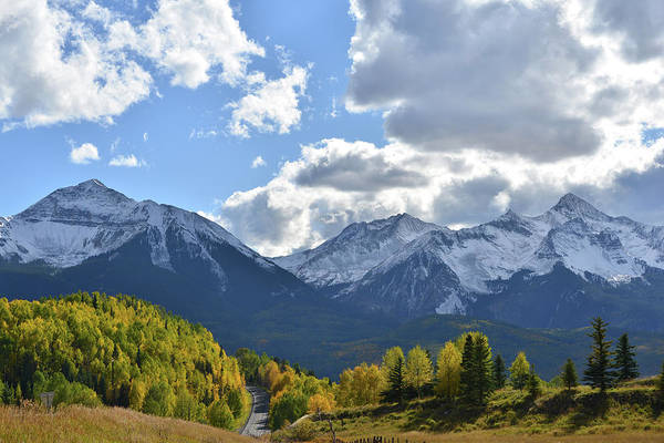 Photograph - Heading South On 145 From Telluride by Ray Mathis