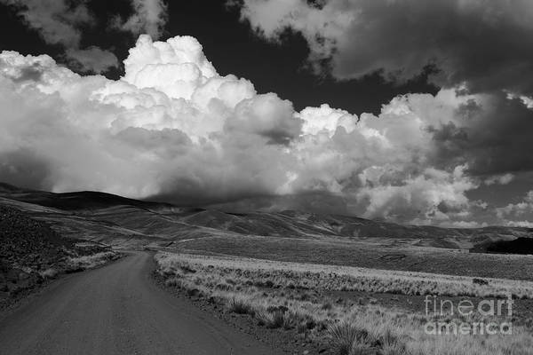 Photograph - Heading Towards The Storm by James Brunker