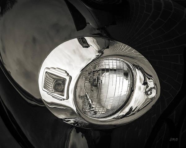 Photograph - Headlamp IIi Toned by David Gordon
