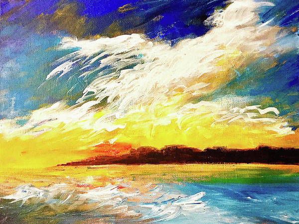 Port Townsend Painting - Headland by James Murphy