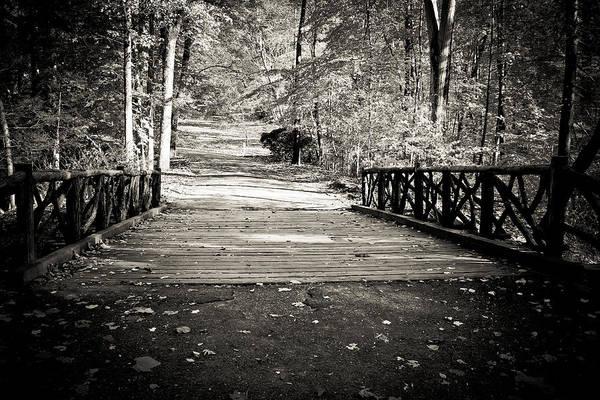 Famous Cemeteries Photograph - Headless Horseman Bridge - Sleepy Hollow by Colleen Kammerer