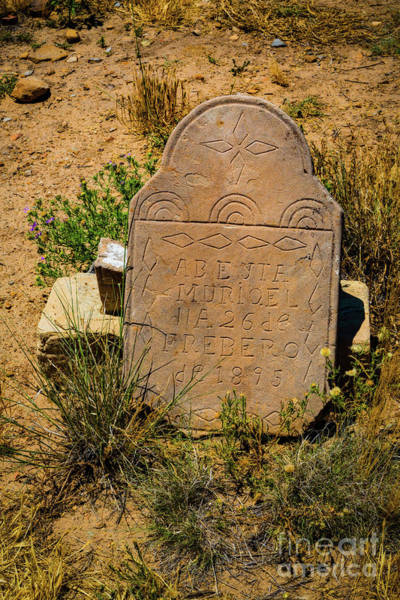 Photograph - Headstone by Jon Burch Photography