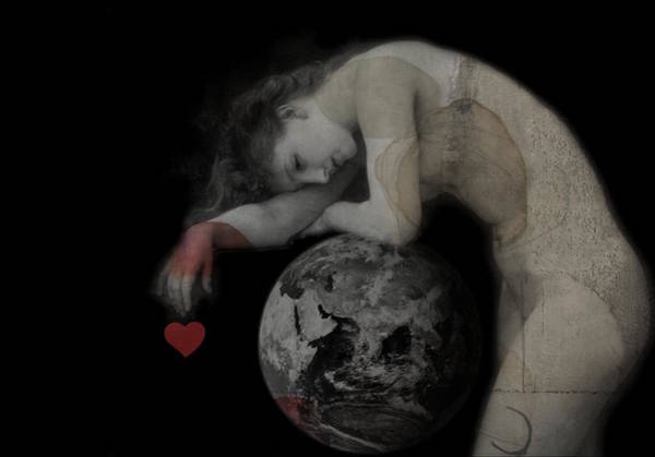 Compassion Wall Art - Digital Art - Heal The World  by Paul Lovering