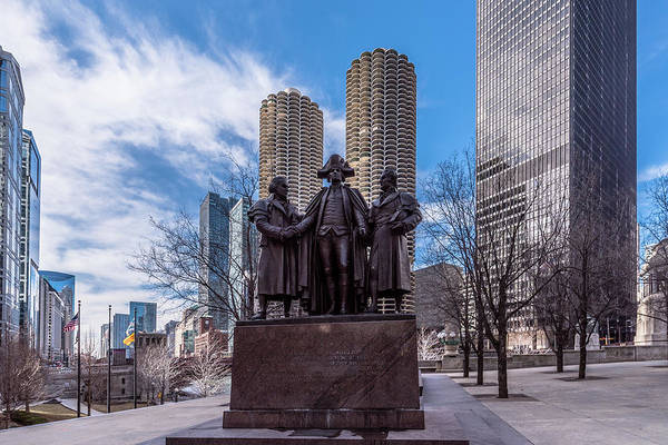 Photograph - Heald Square Monument by Randy Scherkenbach