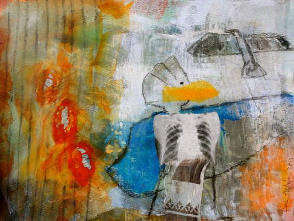 Birdman Painting - Healer by Jenn Ashton