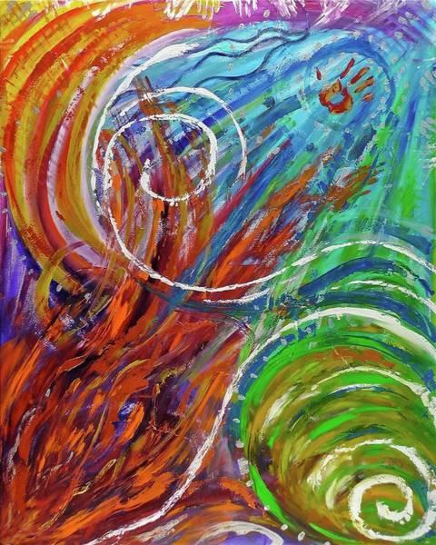 Painting - Healing by Deborah Brown Maher