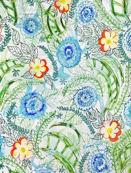 Healing Garden Art Print