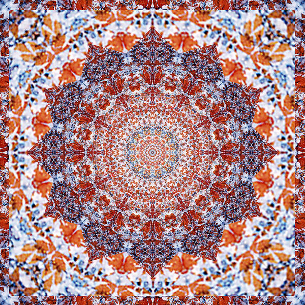 Bell Rock Photograph - Healing Mandala 2 by Bell And Todd