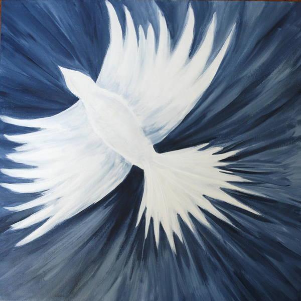 Healing On His Wings Art Print