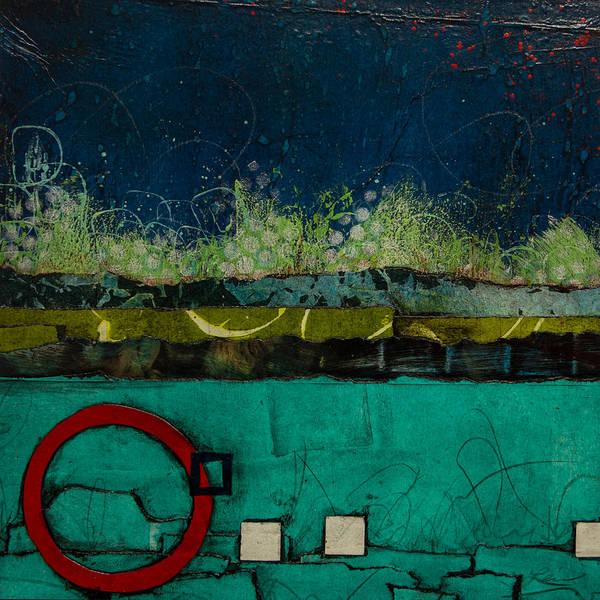 Pokes Wall Art - Mixed Media - Healing Waters by Laura  Lein-Svencner