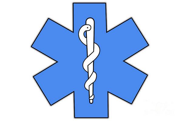 Digital Art - Health Care Symbol by Benny Marty