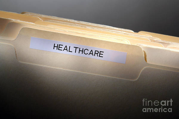 Photograph - Healthcare by Olivier Le Queinec