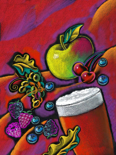 Wall Art - Painting - Healthy Drink by Leon Zernitsky