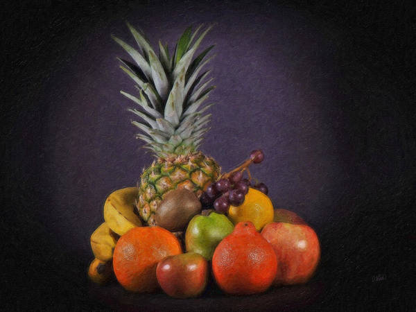 Painting - Healthy Fruit Still Life by Dean Wittle