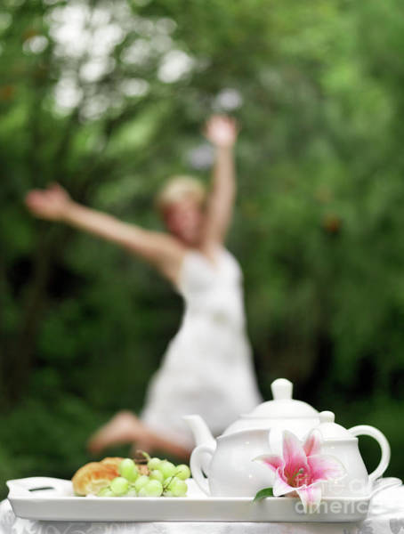 Jasmine Tea Photograph - Healthy Morning by Lise Gagne