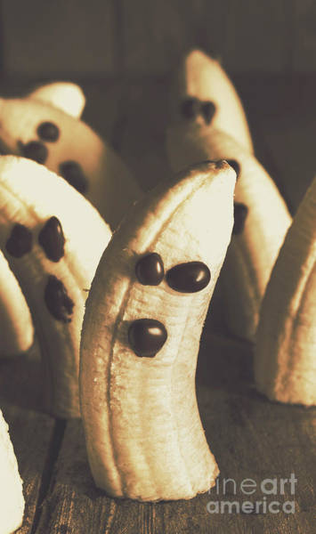 Peel Photograph - Healthy Rustic Trick-or-treat Halloween Snacks by Jorgo Photography - Wall Art Gallery