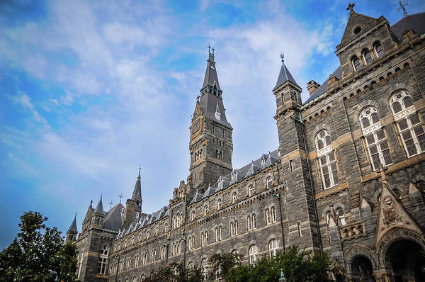 Photograph - Healy Hall - Georgetown University by Frank Mari