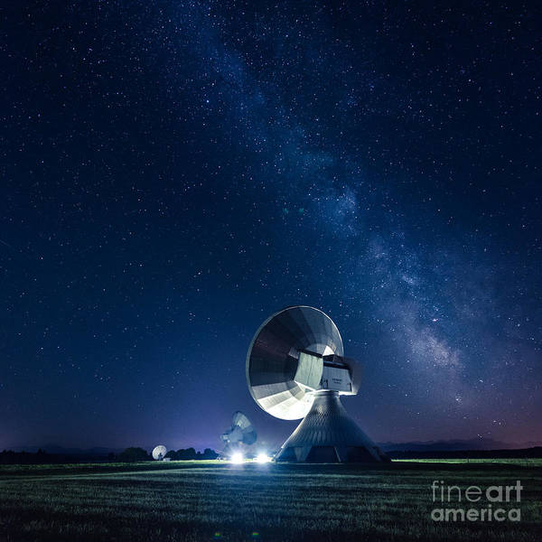 Photograph - Hearing At The Milky Way by Hannes Cmarits