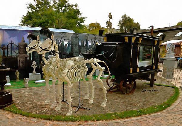 Photograph - Hearse Of The Grim Reaper by Floyd Snyder