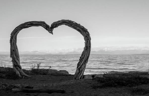 Photograph - Heart Arch by Trance Blackman