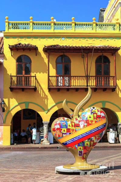 Photograph - I Heart Cartagena by John Rizzuto