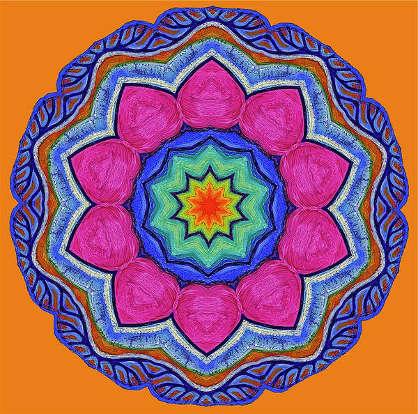 Wall Art - Painting - Heart Chakra by Jenifer Prince