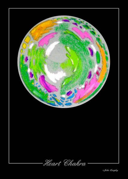 Pastel - Heart Chakra by John Quigley