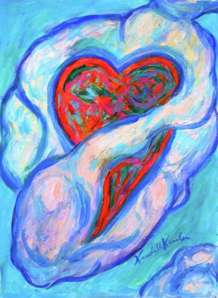 Painting - Heart Cloud  by Kendall Kessler