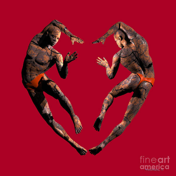Heart Dance Art Print