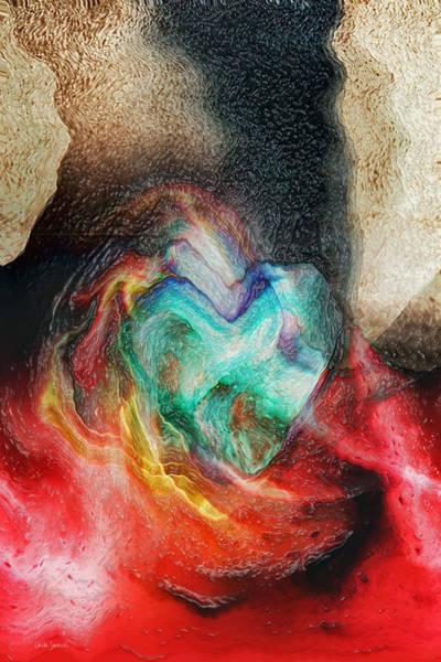 Wall Art - Digital Art - Heart Deep by Linda Sannuti