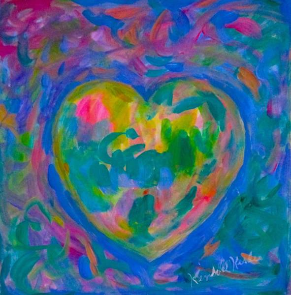Painting - Heart Glow by Kendall Kessler