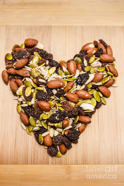 Wall Art - Photograph - Heart Healthy Snacks by Jorgo Photography - Wall Art Gallery
