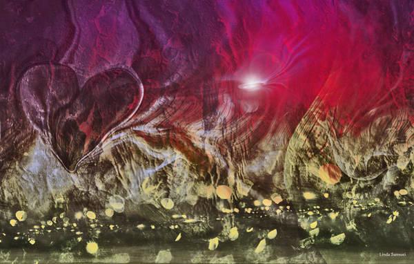 Wall Art - Digital Art - Heart Invasion by Linda Sannuti